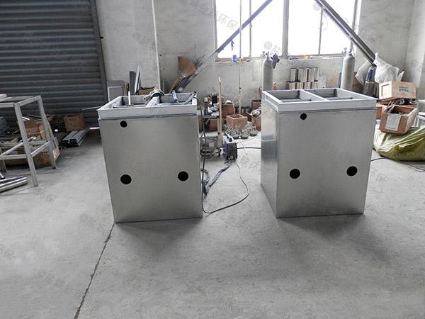 厨余甲型自动刮油油水分离处置设备有用吗