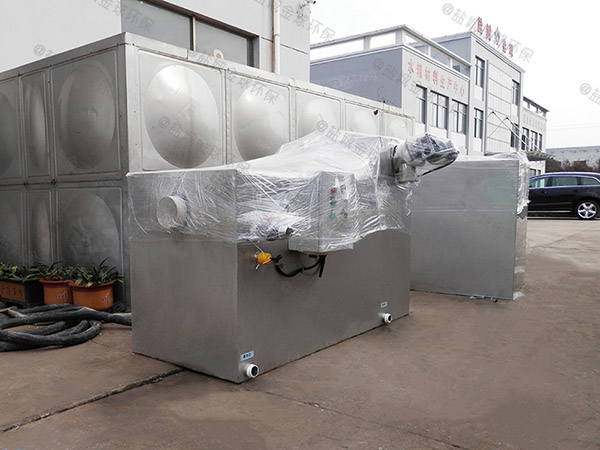 饭堂8吨的长宽高全自动一体化油水分离提升设备必须装么
