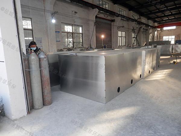 工地食堂3.1米*1.2米*1.85米自动提升油水分离处置设备厂家品牌