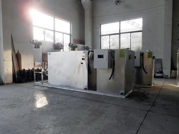 工地100人自动一体化油水分离装置油用什么泵抽