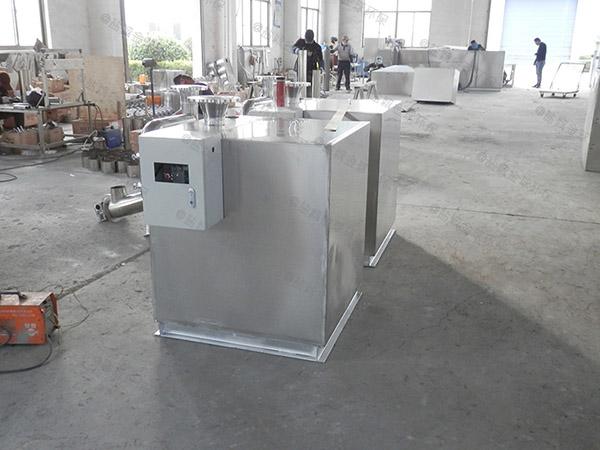 负一层地下室外置泵反冲洗型污水隔油提升器优点