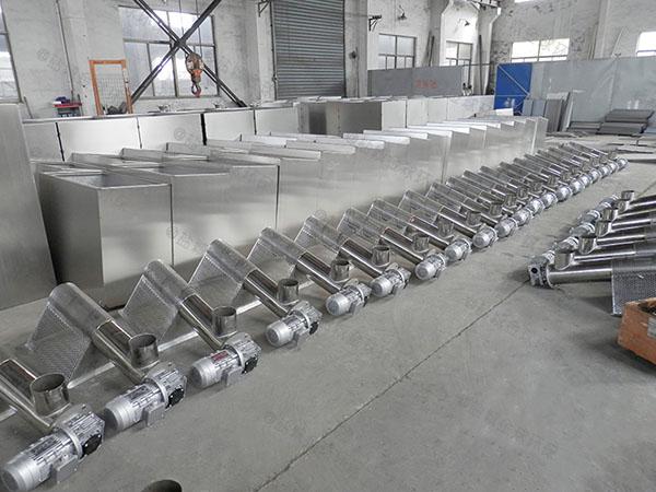 工程100人全自动一体式隔油提升设备的作用及特点