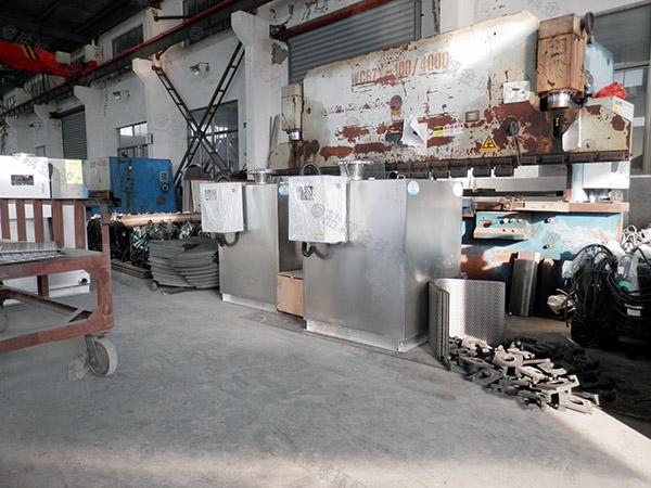 工程3.1米*1.2米*1.85米自动油水分离隔油池除油效果