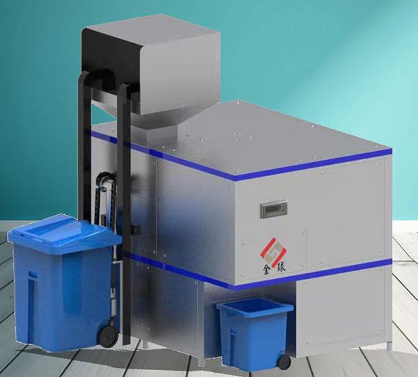 日处理10吨自动化餐厨垃圾预处理设备的好处