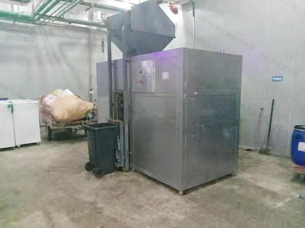日处理5吨环保厨余垃圾废水处理型号