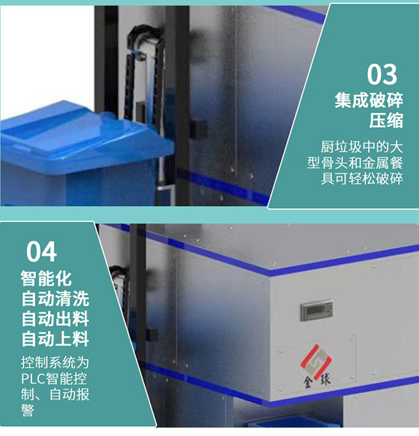 大中型餐饮垃圾一体机使用说明
