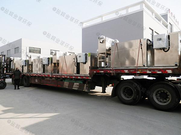 工程8吨的长宽高自动化油水分离处理装置技术说明