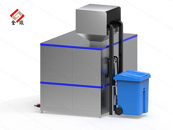 日处理10吨自动化厨余垃圾压缩设备用途