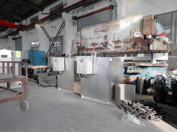 工地食堂2号自动提升油水分离处理机尺寸规格