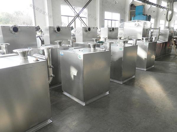 负一层地下室平地式和深坑式污水提升器装置型号参数