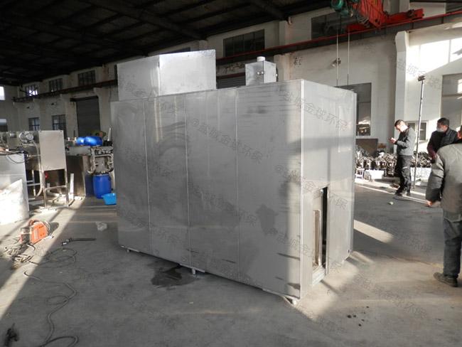 20吨环保餐厨垃圾减量处理设备使用情况