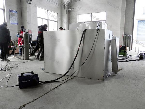 购物中心500人组合式油水分离处理机油和水怎么处理