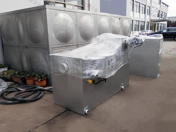 厨余2.8米*1.2米*1.75米自动提升一体化隔油装置技术说明