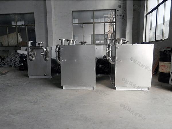 工地30立方组合式一体化油脂分离器尺寸规格