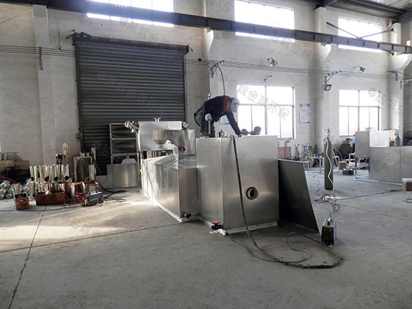 工地30立方自动化油水分离过滤设备除油效果