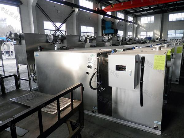 厨余2号自动提升一体化油水分离装置做法图集