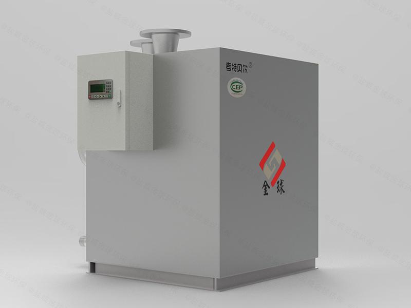 家用无堵塞污水隔油提升器设计