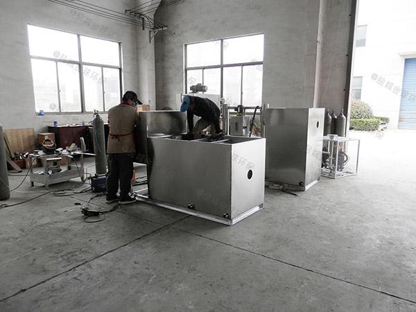 单位食堂500人自动化一体式隔油池温度是多少