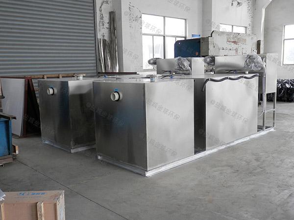 工程30立方自动化一体式隔油池尺寸规格