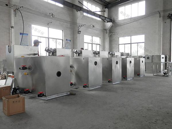 工程100人全自动油水分离机设备专业品牌