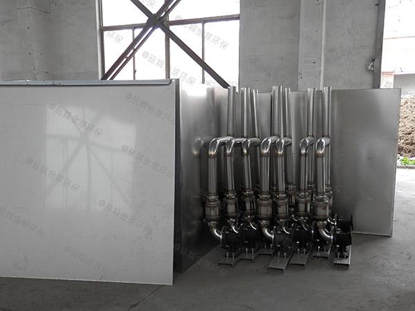 厨余3.5米*1.35米*1.85米组合式油水分离隔油池多长时间更换