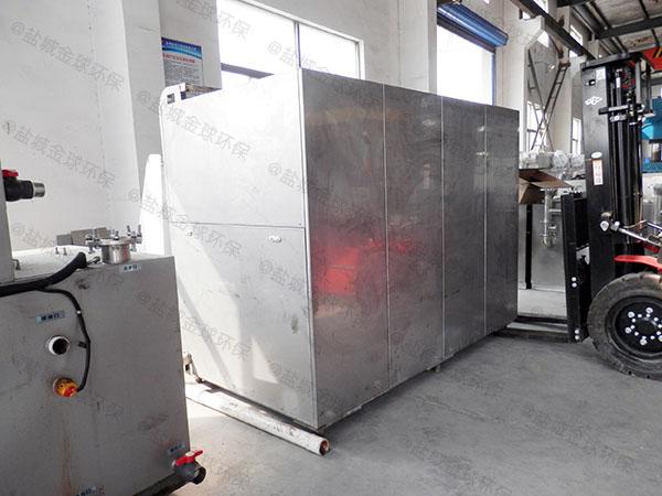 5吨机械式餐厨垃圾废水处理的好处