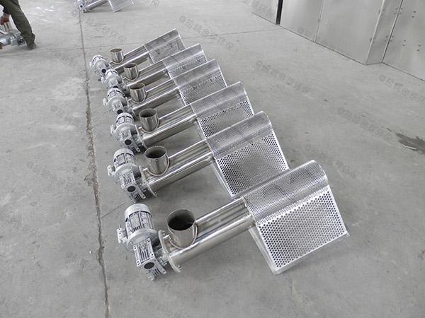 购物中心2号全自动油水分离处理装备原理图纸