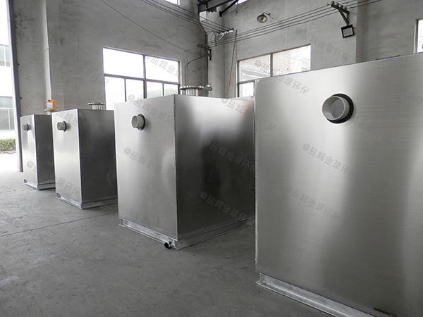 工程2.8米*1.2米*1.75米智能一体式隔油提升设备批发厂家