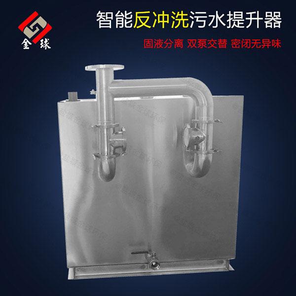 餐厨密闭式自动排渣污水提升器设备怎样套定额