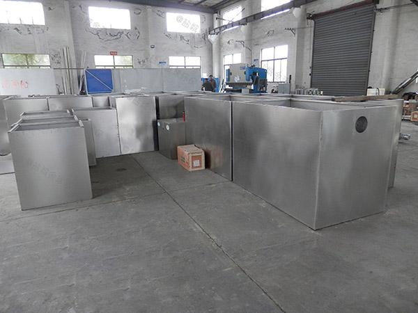 饭堂1000人自动排水油水分离及过滤装置必须装么