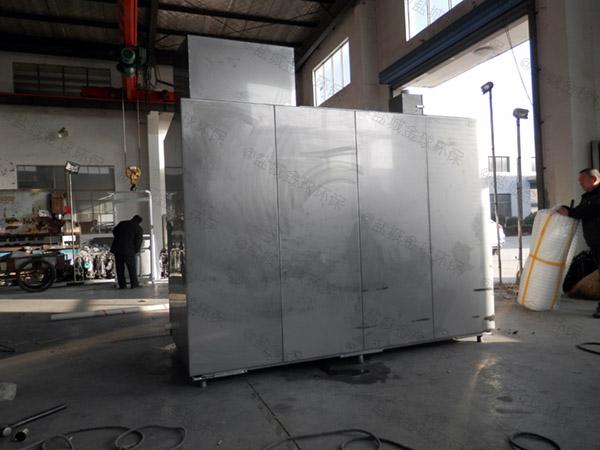 10吨智能厨余一体化垃圾处理设备生产工艺流程