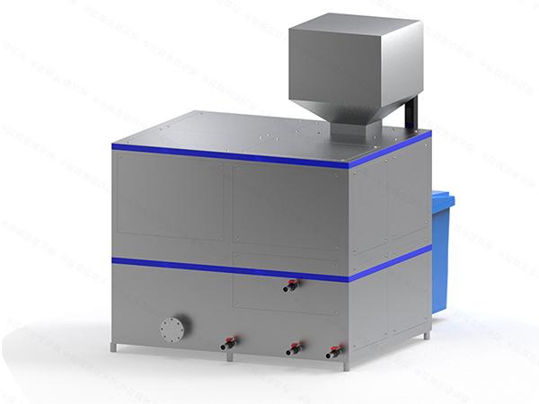 微型自动化餐饮垃圾减量处理设备构造