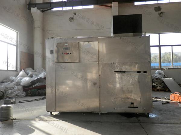 10吨自动化餐饮垃圾油水分离一体机