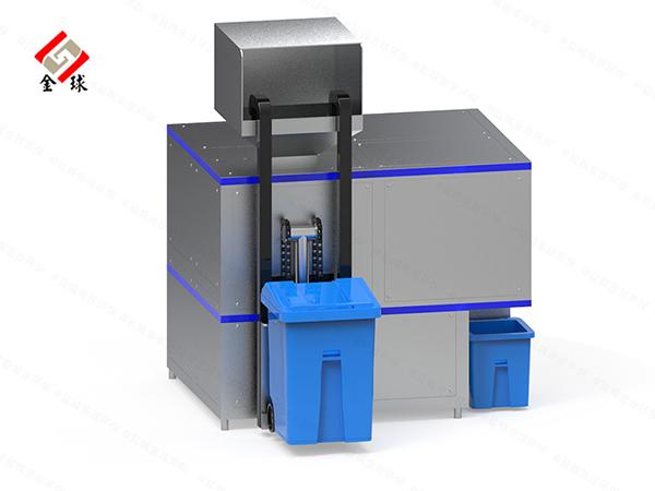 10吨全自动餐厨垃圾处理机结构设计
