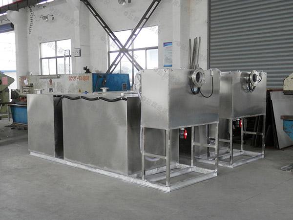 工程3.1米*1.2米*1.85米智能型油水分离及过滤装置多长时间更换