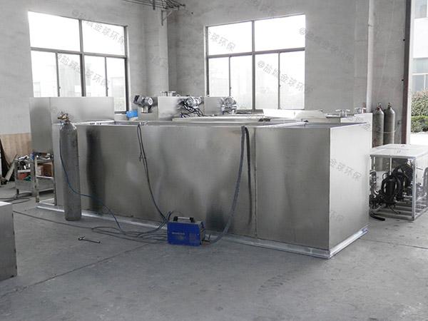 购物中心3.5米*1.35米*1.85米组合式油水分离处理机器要不要装