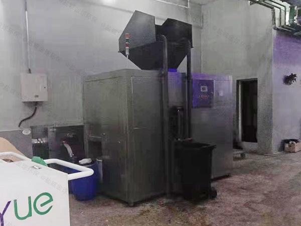 大小型环保餐饮垃圾处理一体机怎么安装