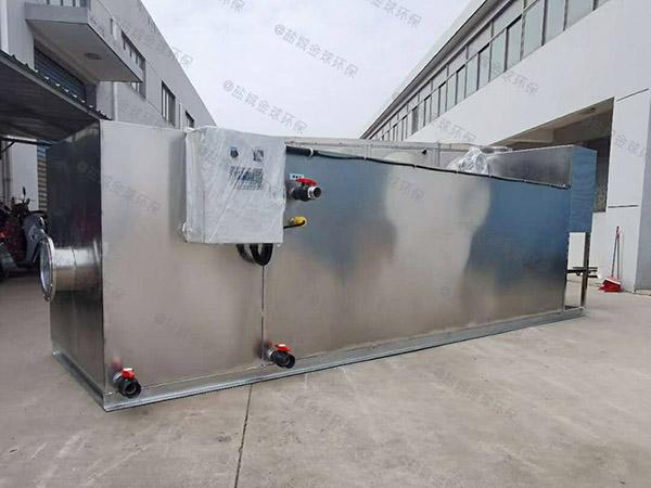 购物中心甲型自动化一体化油水分离提升设备油和水怎么处理