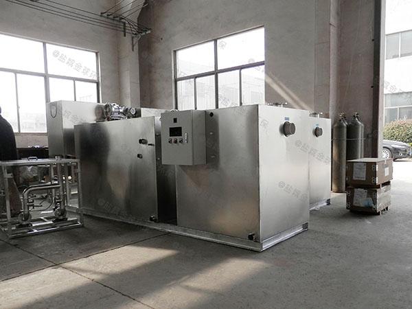 饭馆8吨的长宽高自动油水分离隔油器实体厂家