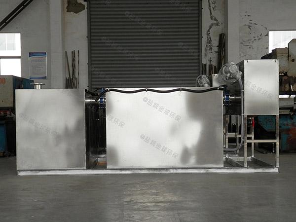 购物中心甲型自动刮油油水分离处理机器专业品牌