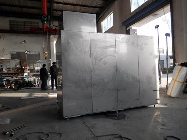 日处理10吨自动化厨余垃圾处理整套设备价位