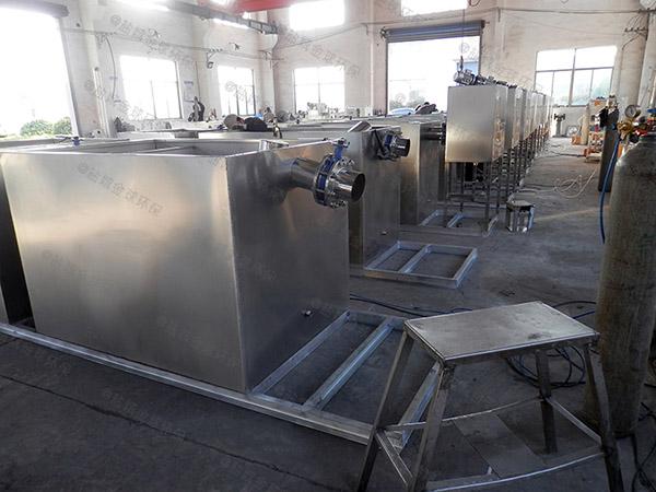 厨余1000人组合式一体化油水分离提升设备专利
