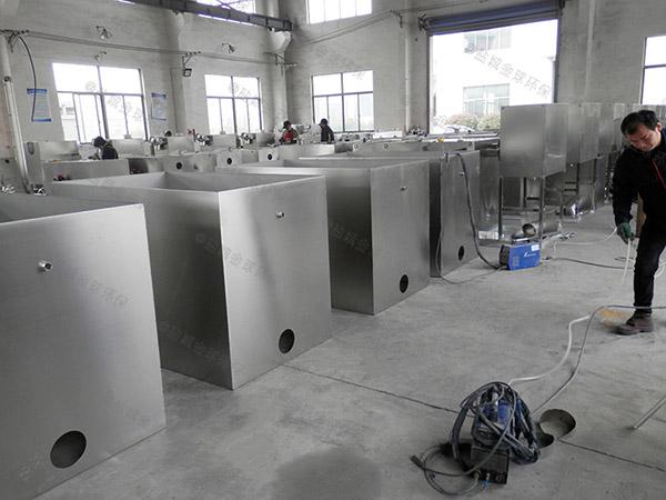 工地2号自动刮油一体化油脂分离设备使用方法及注意事项